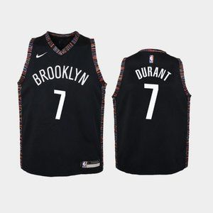 Women Brooklyn Nets #7 Kevin Durant Jersey